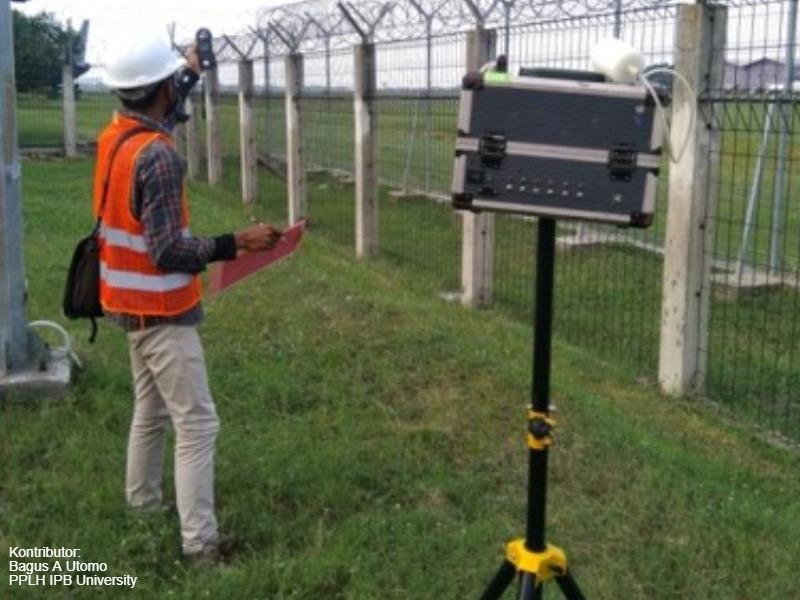 Pendampingan Pemantauan Lingkungan Bandar Udara Internasional Soekarno-Hatta Semester 1 dan 2 Tahun 2020