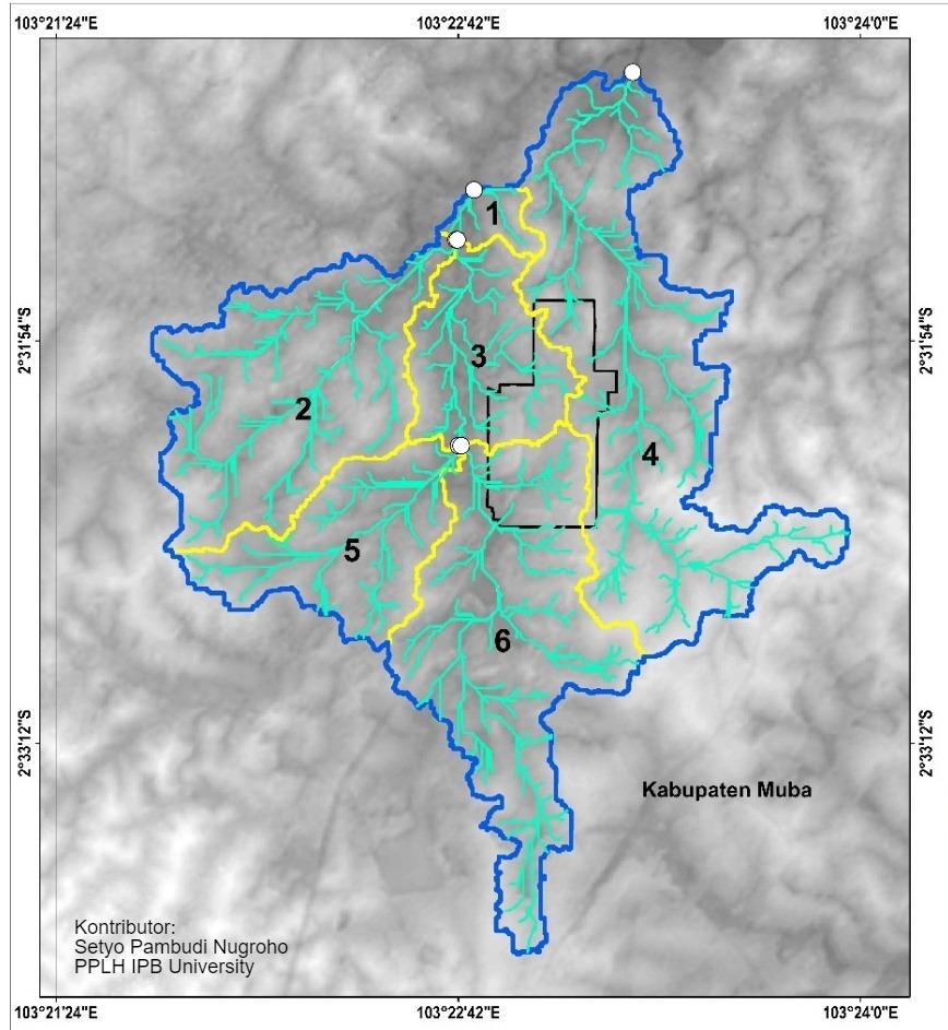 Kajian Erosi di Sekitar Area Suban Gas Plant, Lapangan Suban, Blok Corridor, ConocoPhillips (Grissik) Ltd.